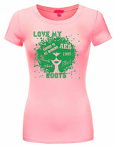 SKEE-WEE! Love My AKA Roots T-Shirt - Alpha Kappa Alpha