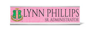 Alpha Kappa Alpha Desk Nameplate