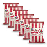 Delta Sigma Theta Chip Bags (Filled) 6 Packs - Adorn Greek Gifts