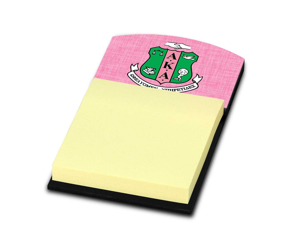 SKEE-WEE! OFFICE - Alpha Kappa Alpha Stick Note Holder Shield