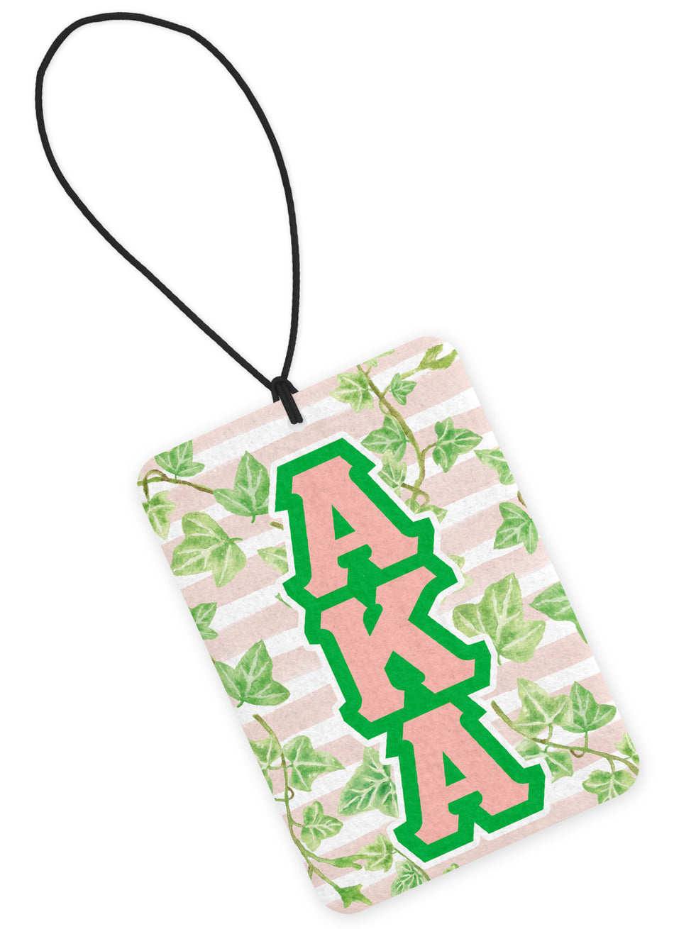 Alpha Kappa Alpha Air Freshener Ivies and Greek Letters