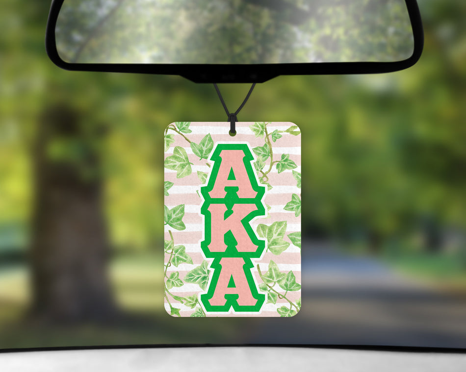 SKEE-WEE! AUTO ACCESSORIES - Alpha Kappa Alpha Air Freshener