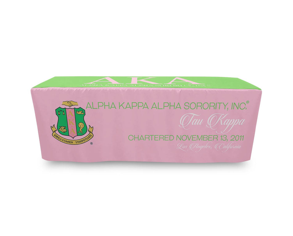 Alpha Kappa Alpha Fitted Tablecloth