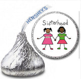 Alpha Kappa Alpha Hershey Kisses Label - Sisterhood