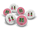 Alpha Kappa Alpha Hershey Kisses Labels