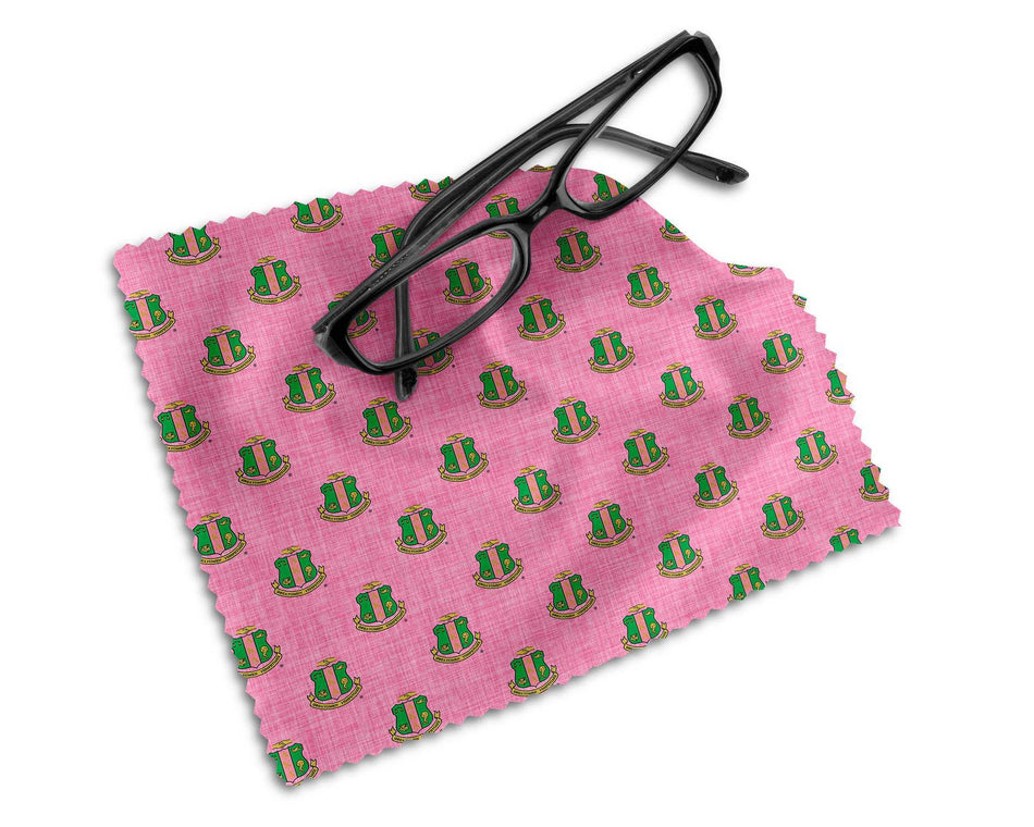 SKEE-WEE! OFFICE - Alpha Kappa Alpha Microfiber Lens Cleaning Cloth