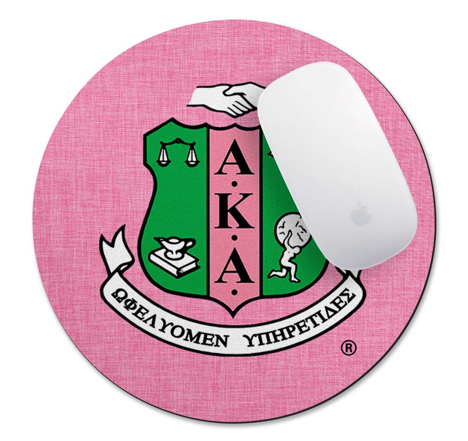 SKEE WEE! OFFICE - Alpha Kappa Alpha Mouse Pad - BEST SELLER!!!