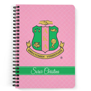 SKEE-WEE! OFFICE - Alpha Kappa Alpha Notebook - Shield