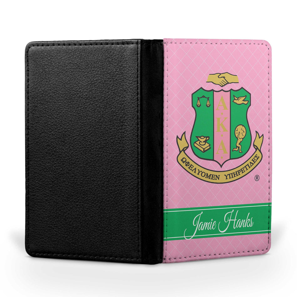 SKEE-WEE! TRAVEL - Alpha Kappa Alpha Passport Cover