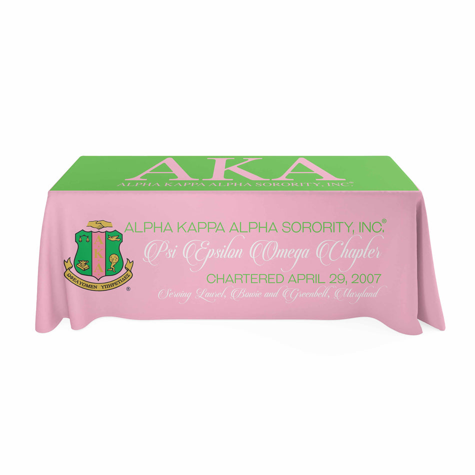SKEE-WEE! EVENTS - Alpha Kappa Alpha Tablecloth