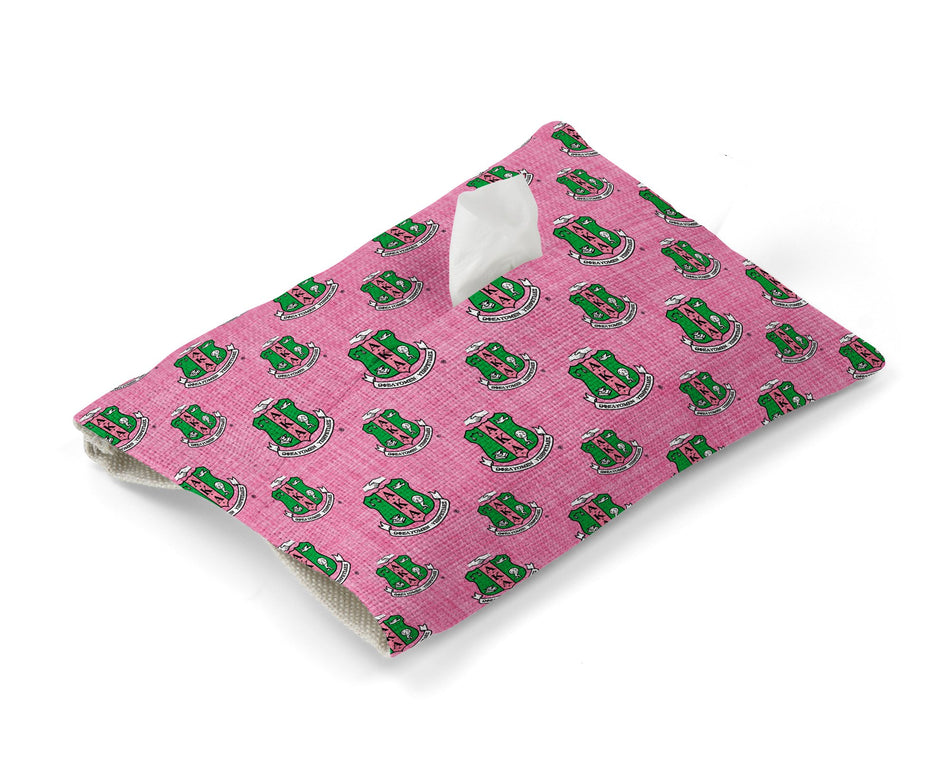 Alpha Kappa Alpha Tissue Cover - Greek Paraphernalia