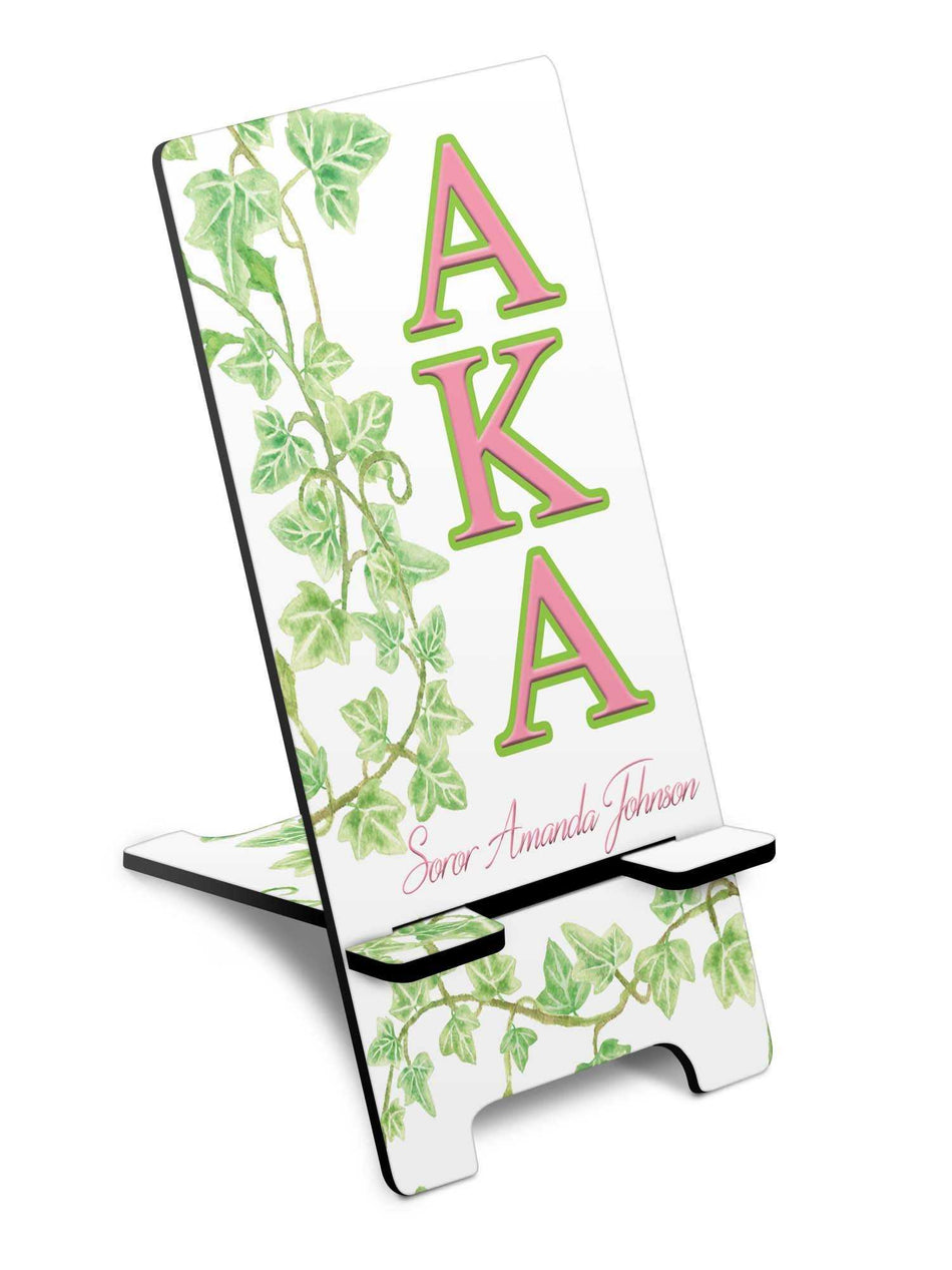 SKEE-WEE! OFFICE - Alpha Kappa Alpha Cell Phone Stand