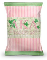 Alpha Kappa Alpha Chip Bag (Filled) - Adorn Greek Gifts