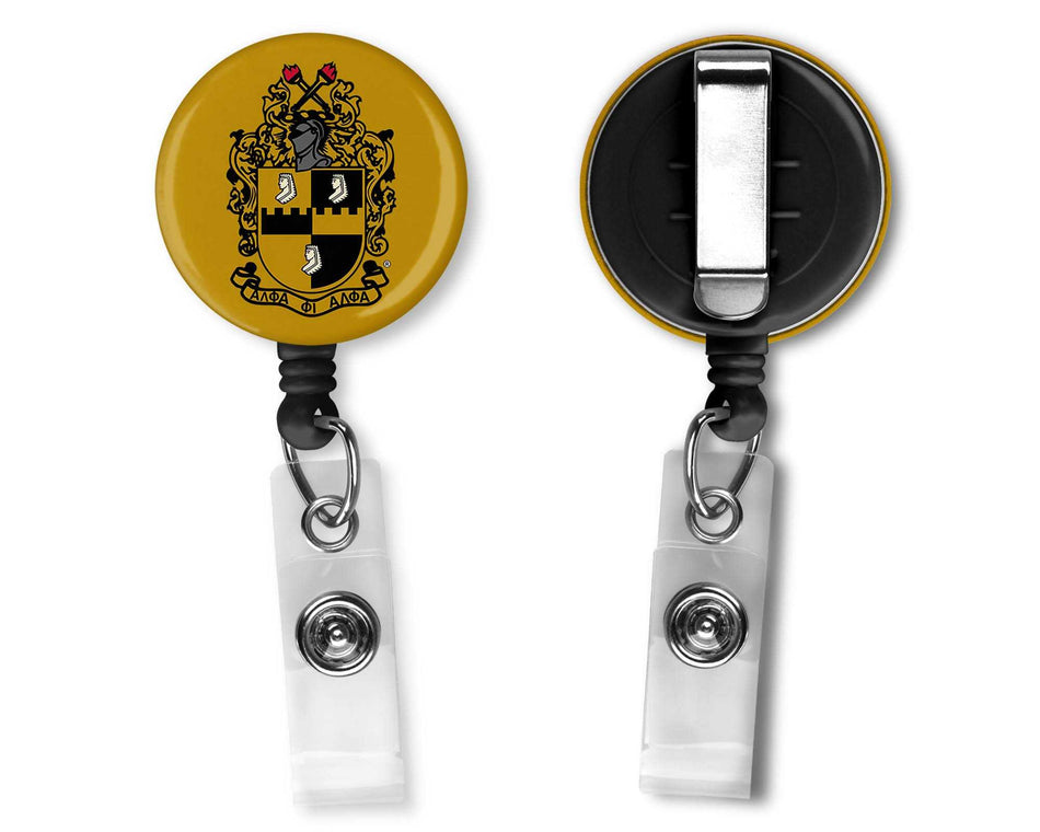 A-PHI! OFFICE - Alpha Phi Alpha Office Badge Reel Shield