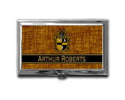 A-PHI! OFFICE - Alpha Phi Alpha Business Card Holder Personalized