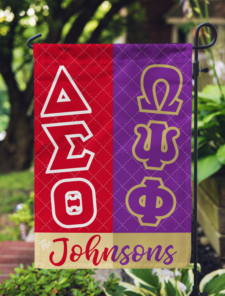 OO-OOP! HOME - Delta Sigma Theta Perfect Combination Family Flag