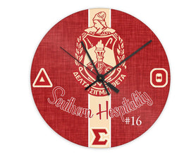 OO-OOP! HOME - Delta Sigma Theta Personalized Clock