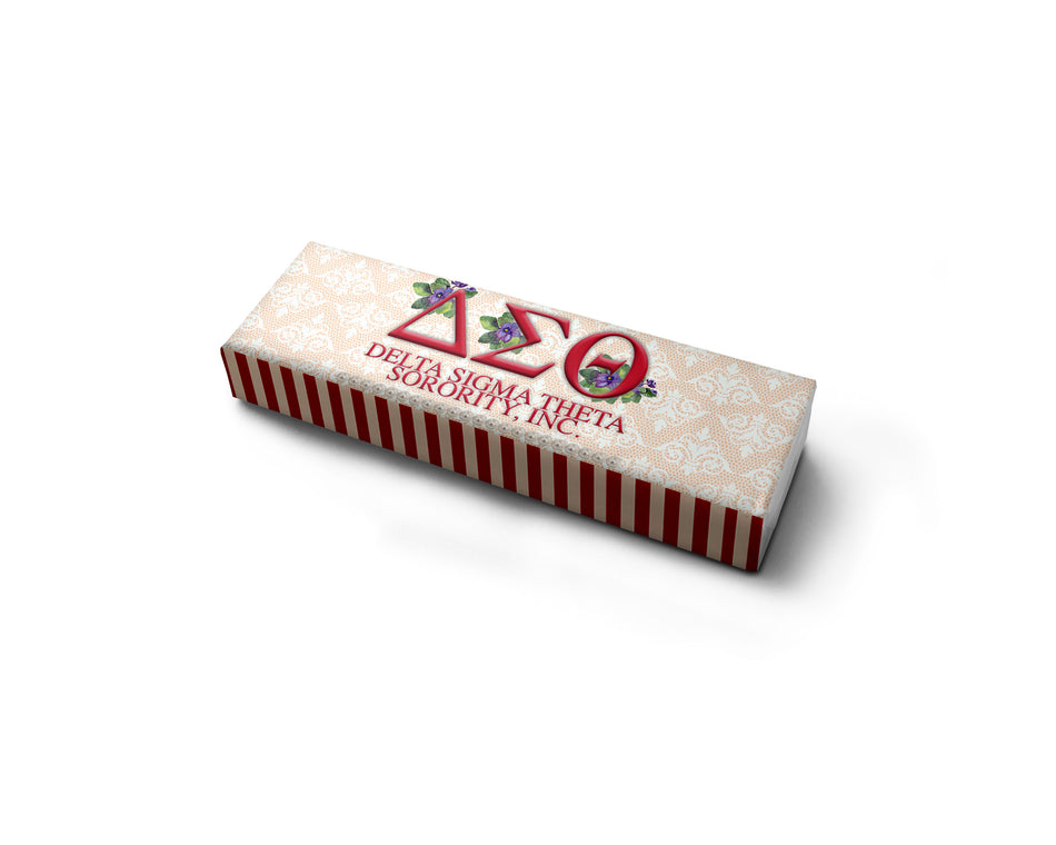 Delta Sigma Theta Chewing Gum Favor - Adorn Greek Gifts