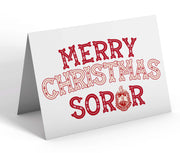 OO-OOP! STATIONERY - Delta Sigma Theta Merry Christmas Soror Note Cards