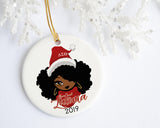 OO-OOP! - Celebrate Delta Sigma Theta Delta Claus Personalized Ornament