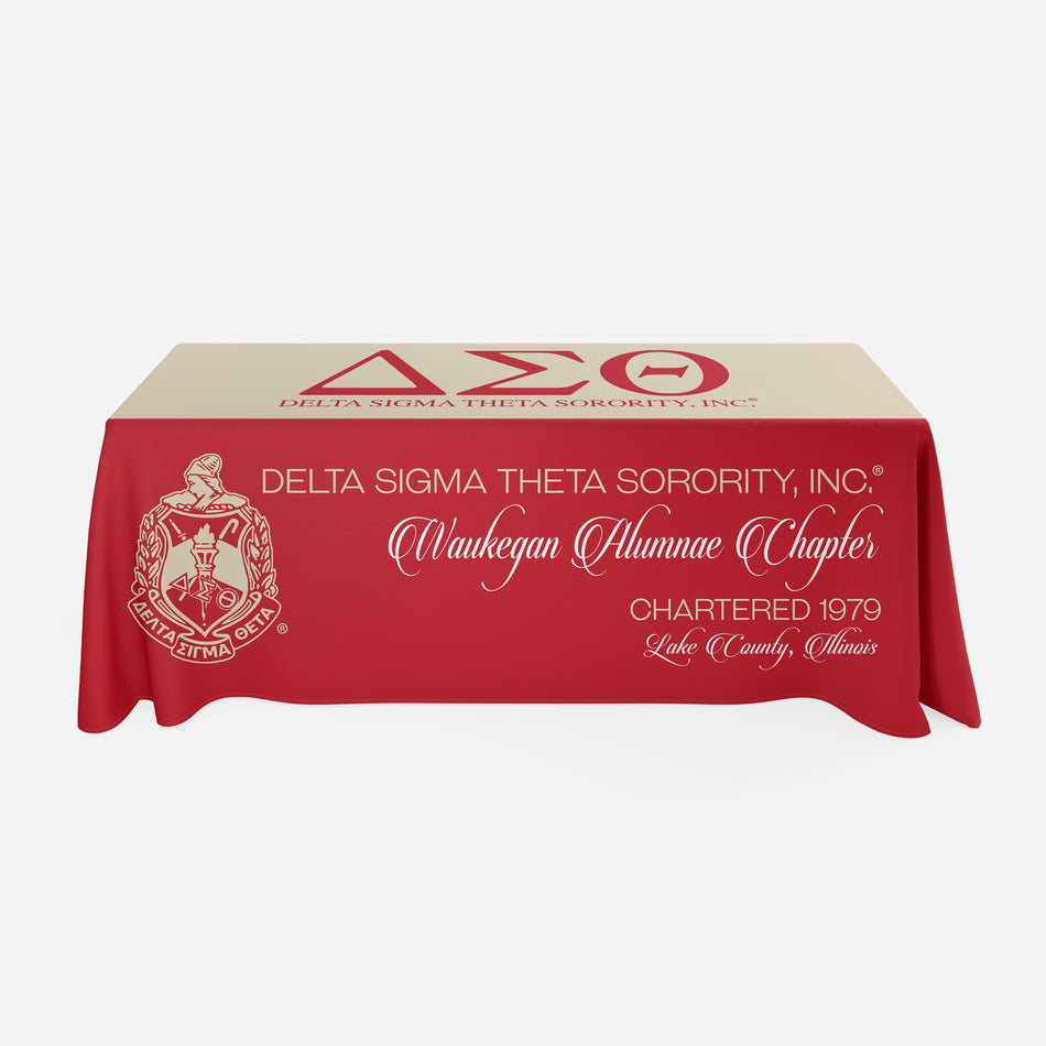 OO-OOP! EVENTS - Delta Sigma Theta Tablecloth - FREE SHIPPING
