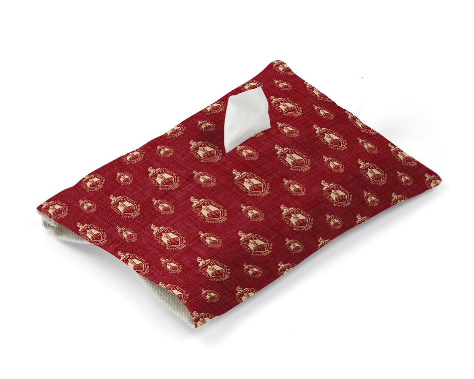 Delta Sigma Theta Tissue Cover - Greek Paraphernalia