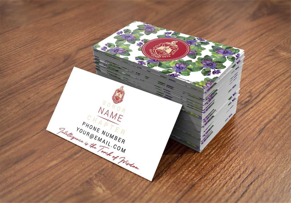OO-OOP! OFFICE - Delta Sigma Theta Contact Cards