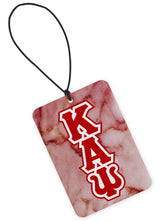 Kappa Alpha Psi Air Freshener - Marble Greek Letters