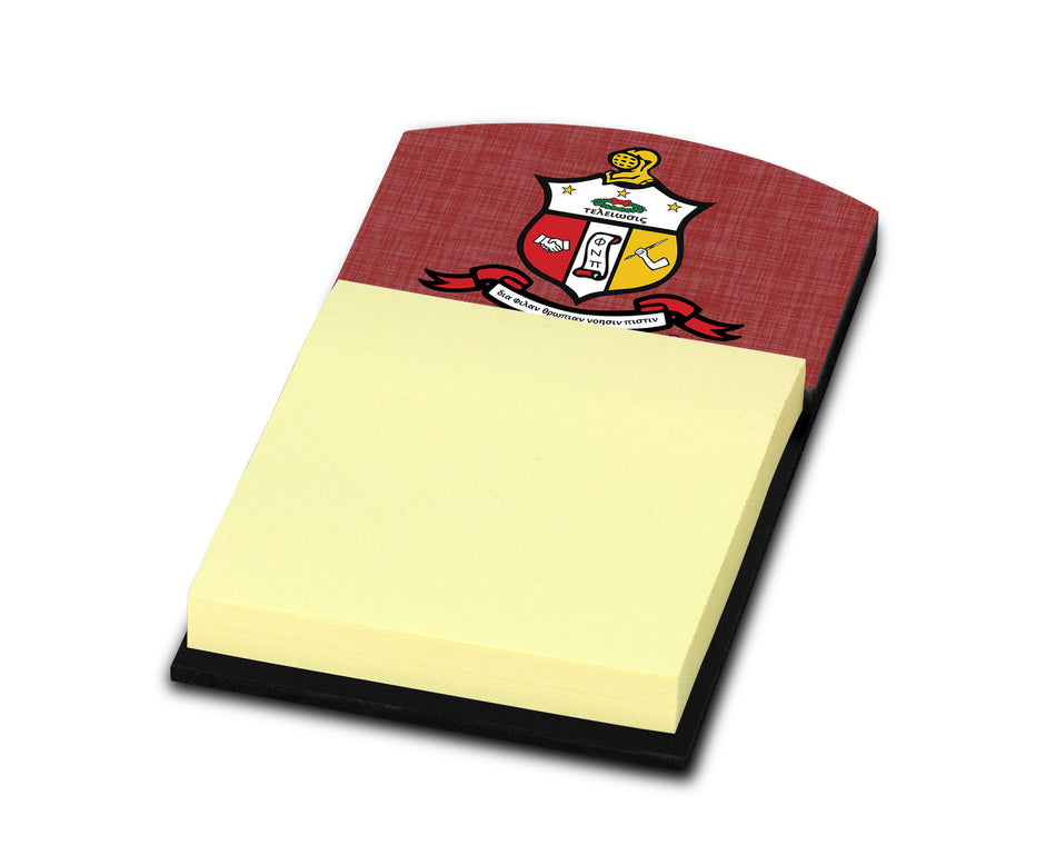 Kappa Alpha Psi Sticky Note Holder - Adorn Greek Gifts