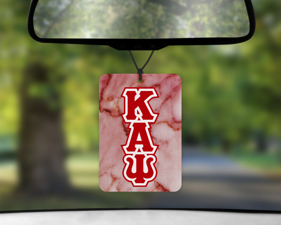 Kappa Alpha Psi Air Freshener - Greek Letters