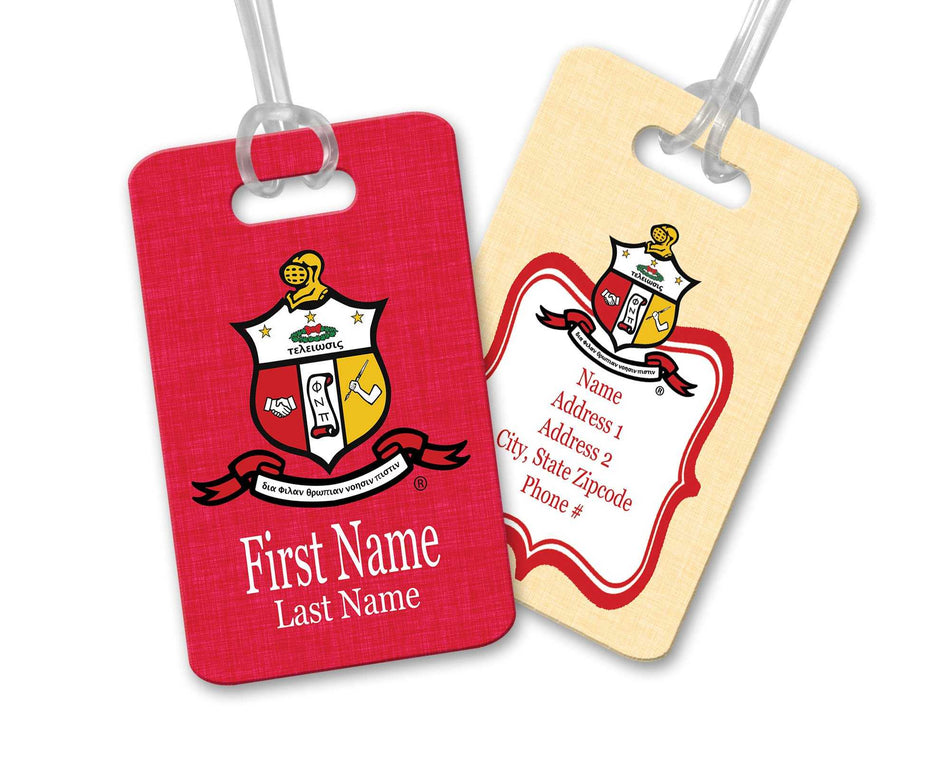 YO! TRAVEL - Kappa Alpha Psi Luggage Tag
