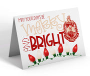 Delta Sigma Theta Christmas Note Cards
