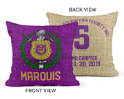 RQQ! HOME - Omega Psi Phi Pillow Cover No insert
