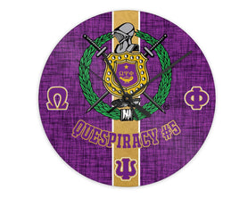 RQQ! HOME - Omega Psi Phi Personalized Clock