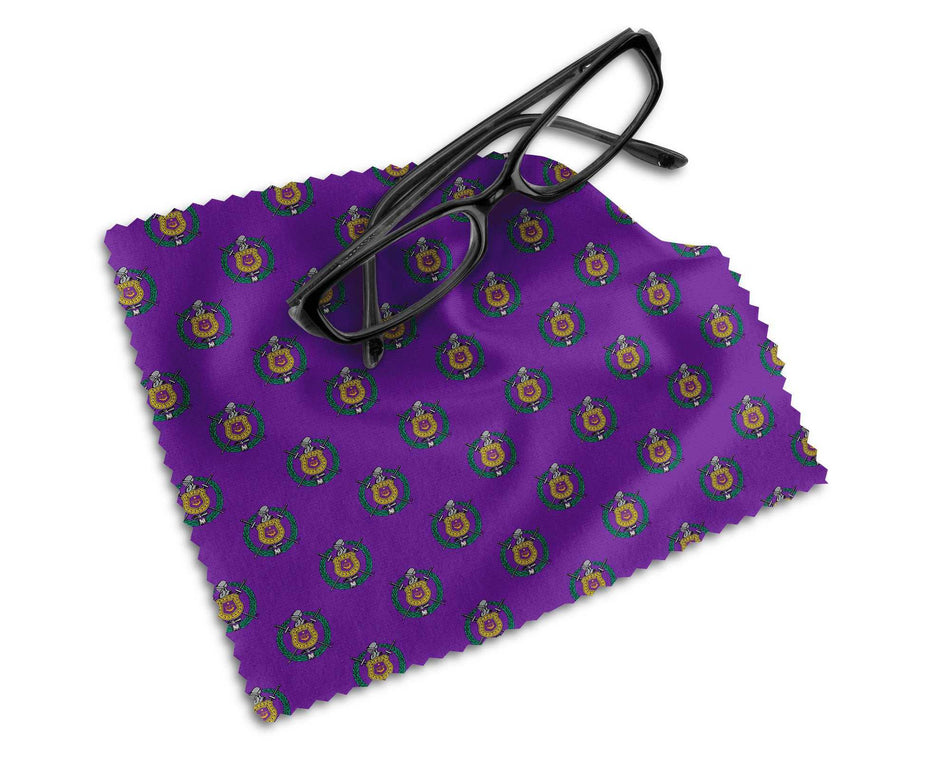 RQQ! OFFICE - Omega Psi Phi Microfiber Lens Cleaning Cloth