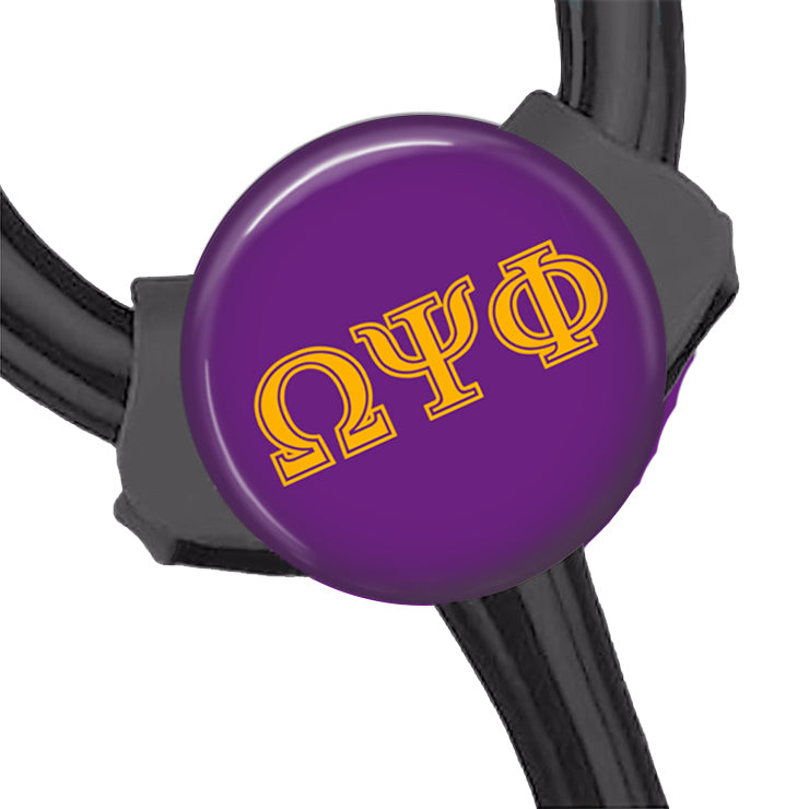 RQQ! OFFICE - Omega Psi Phi Stethoscope ID Tag