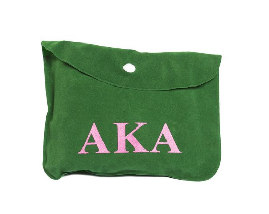 Alpha Kappa Alpha Inflatable Travel Pillow Pouch