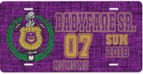 Omega Psi Phi License Plate - Adorn Greek Gifts