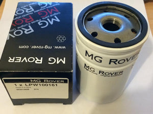 Genuine MG Rover KV6 (2.0 and 2.5) Oil Filter inc Sump Washer - LPW100161 / LPW100230