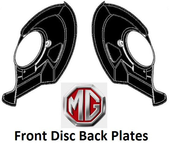 Rover 75 / MG ZT Front Brake Disc Shield / Backplates - SEC100241 & SEC100251 - Pair