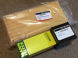 MG F / TF Service Kit (1.6 / 1.8 inc VVC)