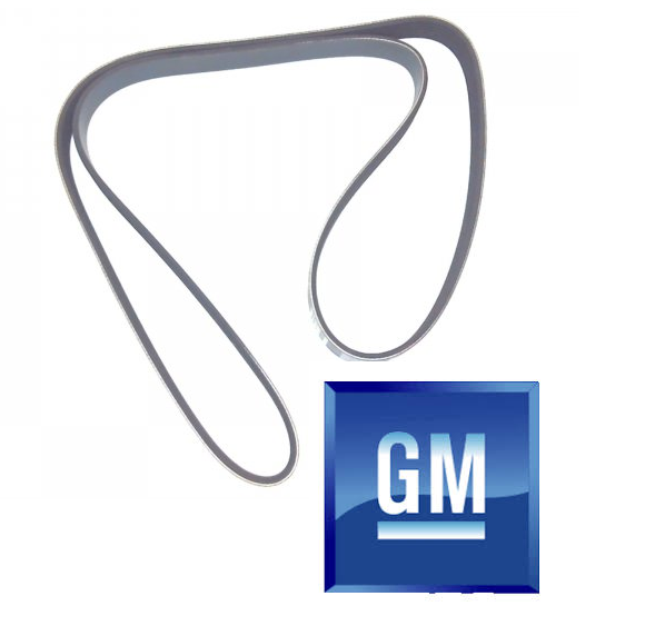 KV6 Auxiliary Belt - PQS101272. 45/75/ZS/ZT - Genuine GM