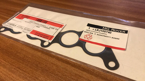 Upper Manifold Gasket LKJ100740 - Genuine MG Rover - 8v K Series