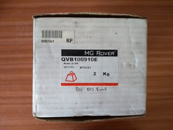 Genuine Rover Group Rover 800 T16 2.0 Turbo Power Steering Pump - QVB100910