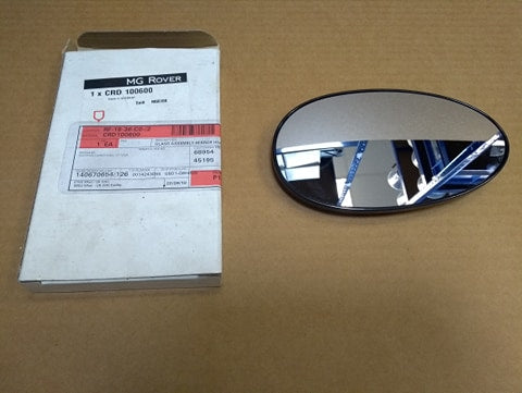 CRD100600- rover 75/MG ZT Bullet Mirror Glass LH/RH