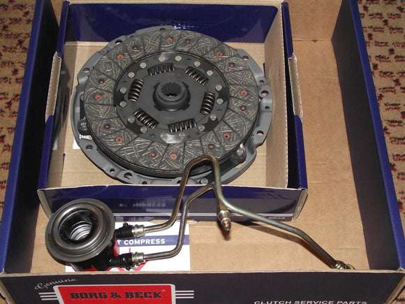 Rover 75 / ZT V6 2.0 Clutch Kit - Borg & Beck with OEM-Q or LuK Slave (3pc) RP1067 & UUB100193