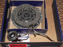 Rover 75 / ZT V6 2.5 / 1.8T Clutch Kit - Borg & Beck with LuK or Metal Slave (3pc) RP1068 & UUB100193 (Also fits MG ZT 1.8T and 2.5 V6)