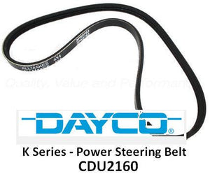 Genuine MG Rover K Series Power Steering Pump Belt - CDU2160 / PQS101450