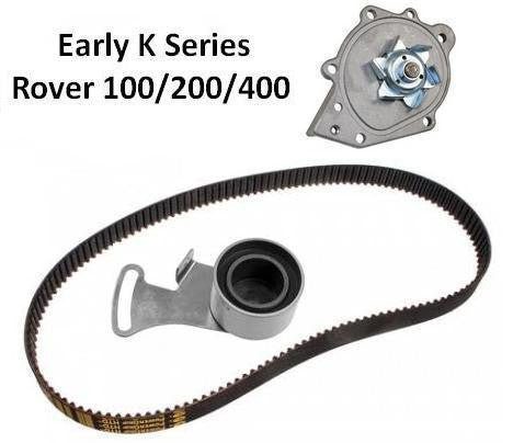 K Series Timing Belt (Cambelt) Kit Inc Water Pump - 95-99. (Manual Tensioner)