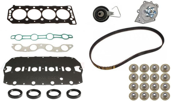 Premium K Series Head Gasket Set (Non VVC) - Inc W/Pump & Cambelt Kit and Metal Tensioner